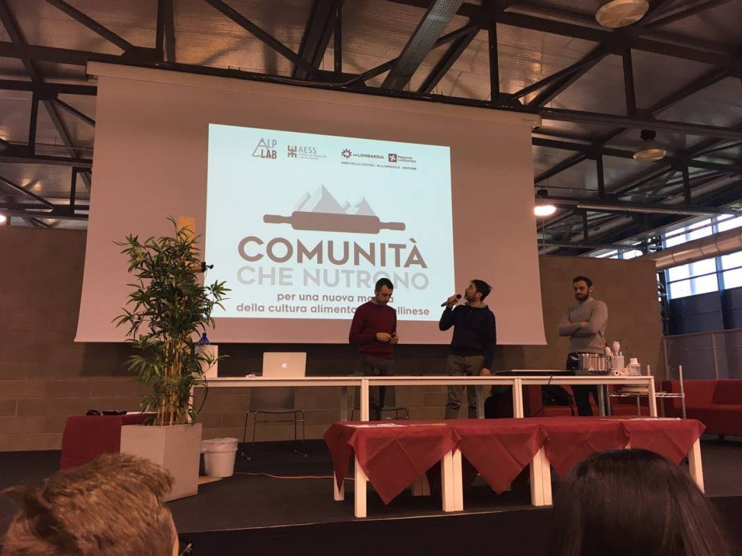 Presentazione del progetto Comunità che nutrono al Festival Far da Mangiare, Sesto S. Giovanni (MI)