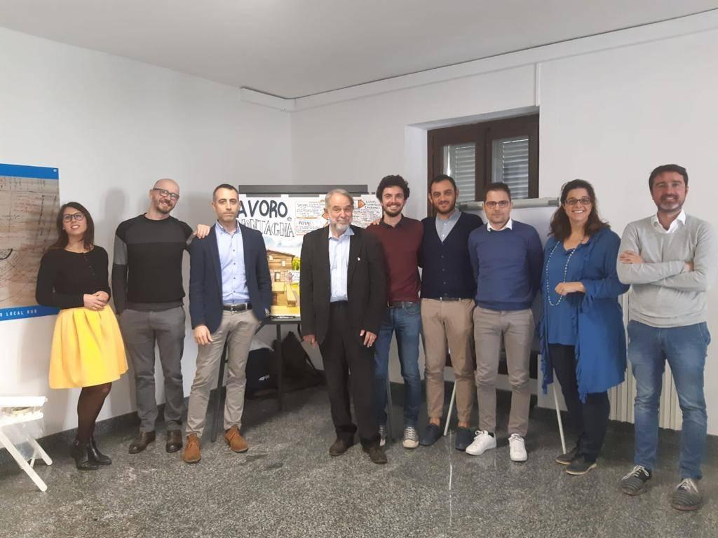 I relatori del workshop, Tirano (SO)