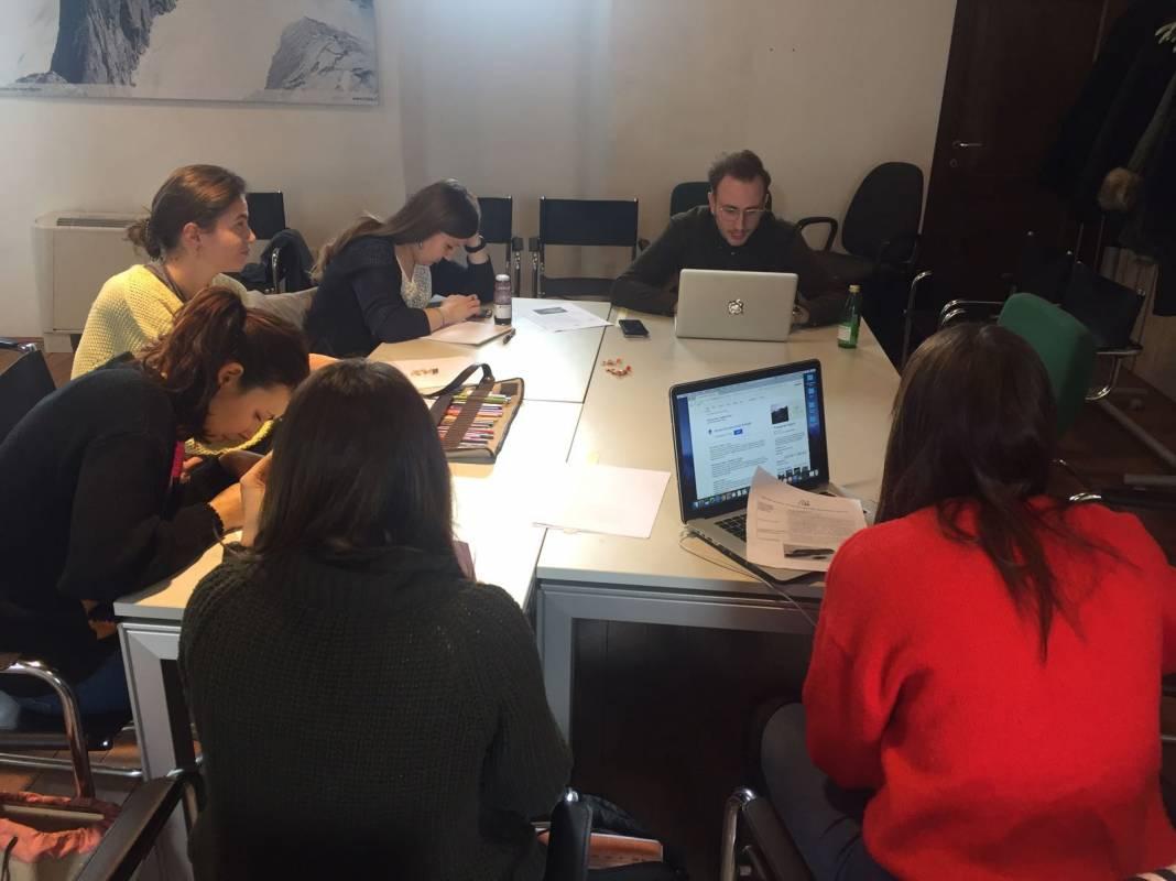 Workshop con giovani professionisti, Chiuro (SO)