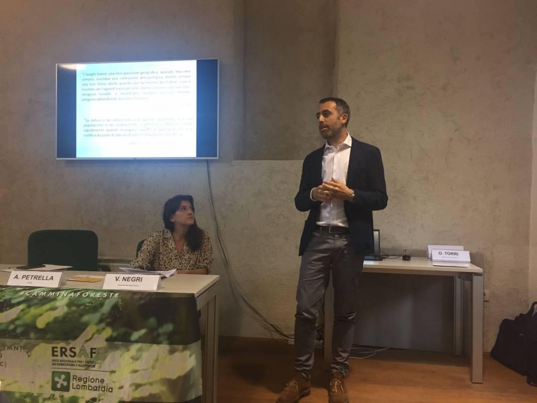 Presentazione della mappa di comunità del M. Rolla a Chiuro (SO)