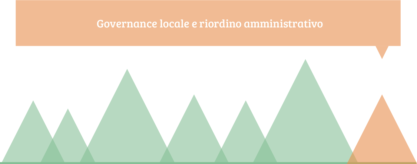 governance locale e riordino amministrativo
